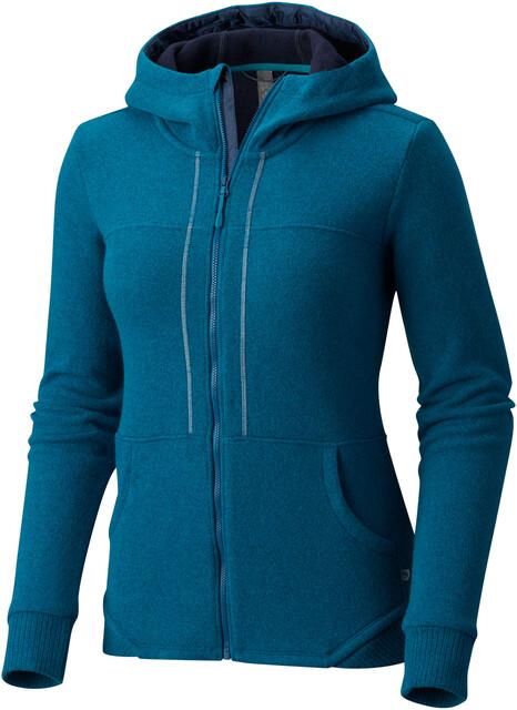 Mountain Hardwear W's Sarafin Pro Hooded Sweater Dark River